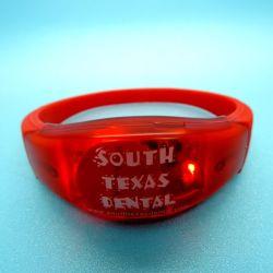 La RFID Smart LED pulsera pulsera de silicona para la promoción y eventos