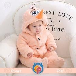 سعر الجملة شخصية جديدة نمط هودي كارتون الحيوانات ملابس طفل الخريف