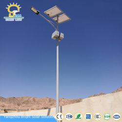Rue lumière LED solaire de 5 ans de garantie fabricant chinois IP67