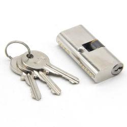 Design élégant du vérin de serrure de porte laiton mortaise avec la clé pour la sécurité des portes