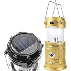 선전용 선물 태양 재충전용 LED 야영 손전등 빛