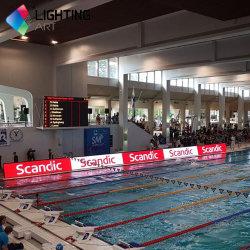 Спорт светодиодный дисплей мягкой подсети светодиодная панель P10 реклама светодиодная панель/Стадион светодиодный дисплей видео