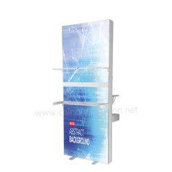 Sistema de exposições Retail Lightbox Booth Service Grande display retroiluminado visor caixa de luz de têxteis