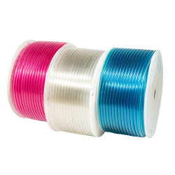 Promoción! ! ! Rojo Azul transparente de Poliuretano de tubos de aire PU basado en el éster de TPU tubos neumáticos de la manguera del tubo de PU PU de éter de tubos de prueba de agua basado en el tubo de PU
