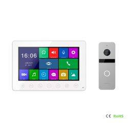 Doorphoneのビデオ相互通信方式HDスクリーン電話保安用カメラ