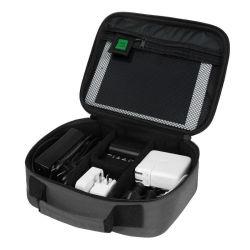 電話ケーブルの充電器のための電子工学のオルガナイザー袋のハード・ドライブのケース