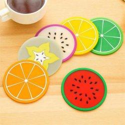 昇進のギフトのためのカスタム乾燥果物のロゴのマットの日本おばあさんPVCソファのコースター
