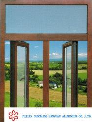Windowsのドアはアルミニウムプロフィール中国の製造者の製造業者から高品質の突き出た