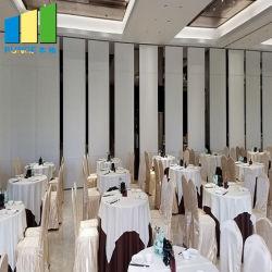 Hotel Partições deslizante de paredes móveis operável a dobragem paredes divisórias para restaurante