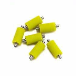 Kundenspezifische CNC-Polyurethan-Rolle, Qualitäts-Stahlkern/Gummikleber-Rolle für Drucken-Industrie/Maschine/Industrien in den verschiedenen Größen