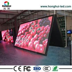 Visualizzazione di LED esterna di servizio P8/P10 della parte anteriore di colore completo per la pubblicità del tabellone per le affissioni dello schermo del segno