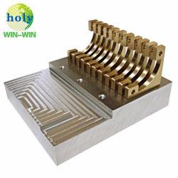 Dissipatore di calore di rame di raschiamento lavorante dell'aletta di CNC