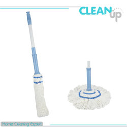 يتيح نظيفة منزل إستعمال متداخل مقرضة [ميكروفيبر] إلتواء ممسحة