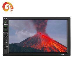 Соединительный провод от мобильного телефона 7018 2DIN 7-дюймовый сенсорный экран Full HD с двумя Ingot всеобщей MP3, MP4, MP5 плеер автомобиля