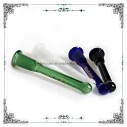 4,5 polegadas Mix de vidro de cor para vidro Hookha Downstem espessura do tubo de água da haste para baixo ACESSÓRIOS PARA FUMADORES