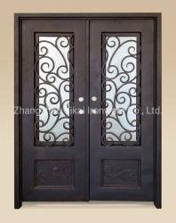 Flat Top popular diseño de la parrilla de hierro el hierro forjado con doble puerta
