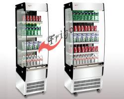 Étage ouvert permanent Chiller Modèle C Self-Service Ouvrir Showcase (FGOR500LC)