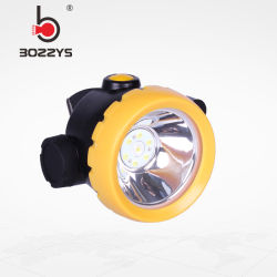 Cordeless 1W 4000lux LED 광부 광업 모자 램프 광산 빛