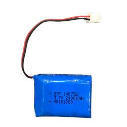 Migliore batteria dello Li-ione del litio di prezzi 3.7V 2400mAh per il carrello di golf