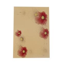 Carte gold color inkjet PVC feuilles/ feuille de plastique