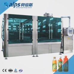 Completare la linea di produzione di riempimento liquida condetta soda scintillante minerale pura automatica dell'imballaggio della spremuta della bevanda della bevanda dell'acqua dell'acqua potabile della bottiglia di vetro dell'animale domestico