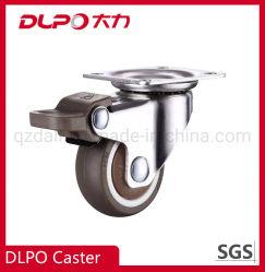 Dlpo Placa Light-Duty Rodízios giratórios de navegação para mobiliário pequenas TPE