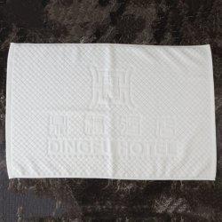 Stuoia antisdrucciolevole 100% del pavimento del bagno del jacquard della stanza da bagno dell'hotel del cotone