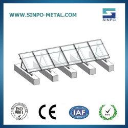 أقواس تثبيت Solar PV مسقوفة من أجل طاقة السقف المسطحة بالطاقة الشمسية نظام السباق