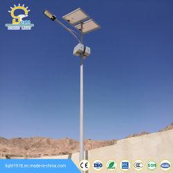 太陽電池パネルが付いている安い価格8m 60W LEDの太陽街灯