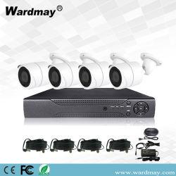 2019 Uitrusting van de Veiligheid DVR van het Toezicht van kabeltelevisie van de Camera van Ahd van de Kogel van het nieuwe Product Top10 de Goedkope 4CH 720p