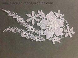 El bordado de encaje de algodón suave de Mecánica accesorios de prendas de vestir un