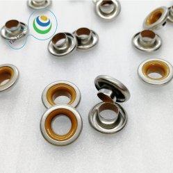 occhiello d'ottone della doppia costruzione composita di colori di 12mm per gli accessori dell'indumento