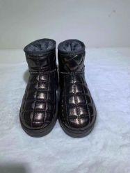 Schoenen van de Vrouwen van de Schoenen van het Leer van de Laarzen van de Sneeuw van in het groot Vrouwen de Korte