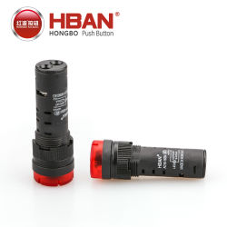 Hban Marcação RoHS (16mm) levaram a cigarra, Flash de sinal sonoro, o indicador de sinal sonoro