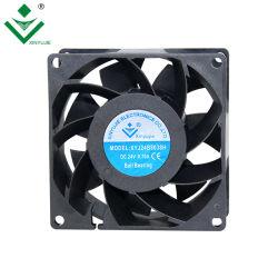 Prijs van de Ventilator van de Ventilator 80X80X38 12V gelijkstroom van de Motor van Xinyujie gelijkstroom Brushless 5500rpm