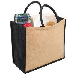 Sacchetto di tela personalizzato della maniglia del regalo dell'iuta di memoria di corsa di promozione dell'imballaggio riciclabile della iuta con il marchio della stampa