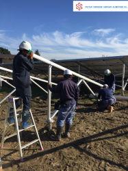 Triangle solaire en aluminium support fixe le support de toit et le système de montage