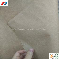 Het gerecycleerde Bruine Document van Kraftpapier voor het Beschermen en het Verpakken in Vakjes