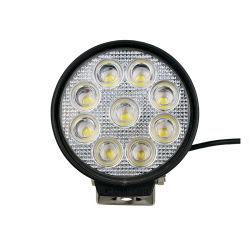 Firmenzeichen passen 12V 27W Punkt-kombinierten Leuchtturm weg Arbeits-dem Licht von des Straßen-Funktions-Licht-Flut-Träger-LKW-LED für Auto an