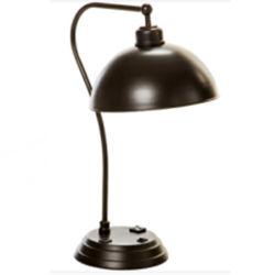 Dunkle Bronze lackierter Metalllampen-Farbton und Karosserien-Tisch-Lampe
