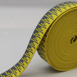 Neues Entwurfs-Jacquardwebstuhl-gewebtes Material, Polyester/pp./Nylongewebtes material für Riemen/Kleid-Zubehör
