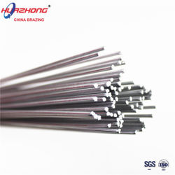 Медь высокотемпературной пайки алюминиевых присадочным металлом потока порошковой проволоки с сердечником стержней