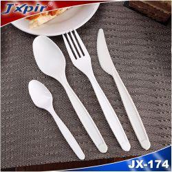 7 Pulgadas Compostable PLA/Cpla desechable utensilios cubiertos.