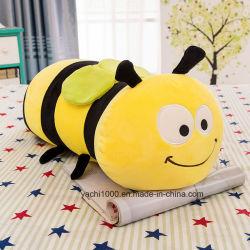 Custom adorable abeille à miel doux jouet en peluche