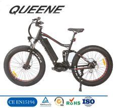 Queene/26インチの脂肪質のタイヤの電気バイクの電気自転車の雪浜の巡洋艦