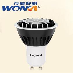 Commerce de gros de haute qualité 4W/5 W/6W/7W LED MR16/Spot de GU10 pour le Cabinet de l'éclairage