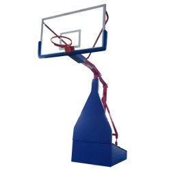 Jeu de basket-ball de la formation des équipements sportifs Panier de Basketball stand portable hydraulique