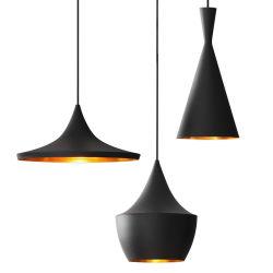 デザインレプリカのトム北欧ディクソンの黒いアルミニウムペンダント灯