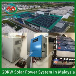 Het Systeem van de ZonneMacht van de Band van het net PV die het Systeem van het Zonnepaneel 30kw opzetten