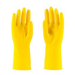 37g, das Menge-Zeile wasserdichte Naturkautschuk-Haushalts-Latex-Arbeits-Handschuhe eintaucht